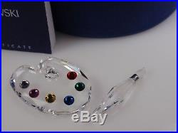 Swarovski Crystal Painter's Palette Mib #680850