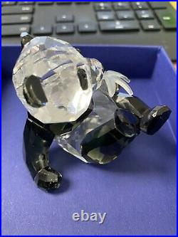 Swarovski Crystal Panda Cub Retired