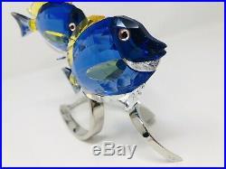 Swarovski Crystal Paradise Fish Large Surgeon Fish Scuba Blue 1034023