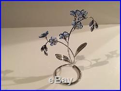 Swarovski Crystal Paradise Flower Danuba Figurine 988071