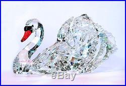 Swarovski Crystal Paradise Graceful Swan Large 1141713 Brand New In Box