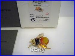 Swarovski Crystal Paradise Small Alipur Bee Retired 250477 Mib Coa