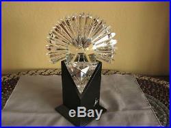 Swarovski Crystal Peacock Figurine Limited Edition Case 218123
