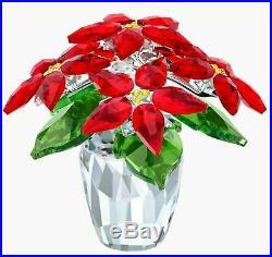 Swarovski Crystal Poinsettia, Large Nib #5291024