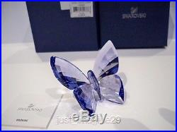 Swarovski Crystal Provence Lavender Butterfly 1182454 Bnib