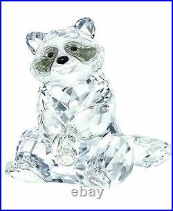 Swarovski Crystal Raccoon MIB #5301563