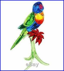 Swarovski Crystal Rainbow Lorikeet Mib #5136832
