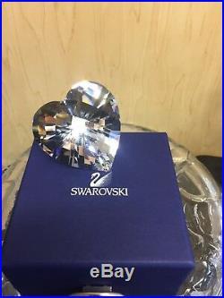 Swarovski Crystal Retired SPARKLING HEART 656680 BNIB COA