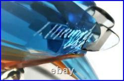 Swarovski Crystal SCS Crystal Paradise Silver Lake KINGFISHERS 945090 Turquoise