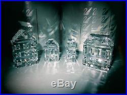 Swarovski Crystal SILVER CITY Figurine 7/11 pc. MIB COA RARE Retired ERV. $775++