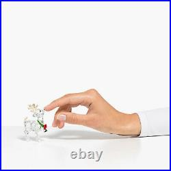Swarovski Crystal Santas Reindeer Figurine Decoration 5532575