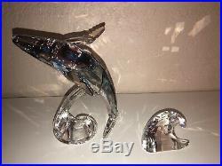 Swarovski Crystal Scs25 Paikea Whale 2012 #1095228 Mib
