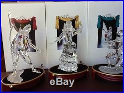 Swarovski Crystal Scs Members Annual Masquerade Columbine Harlequin Pierrot