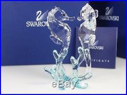 Swarovski Crystal Sea Horses MIB #885589