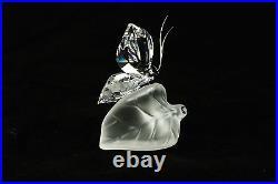 Swarovski Crystal Secret Garden Sparkling Butterfly Original Box Papers 182920