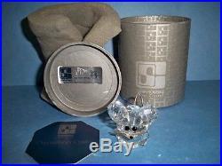 Swarovski Crystal Small Mouse Rare Variation 4 Retired 7631nr030 Mib