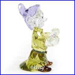 Swarovski Crystal Snow White & Seven Dwarfs Disney Figurine DOPEY -5428558 New