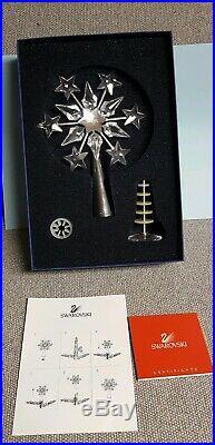 Swarovski Crystal Snowflake Tree Topper 9443 with Box, Certificate