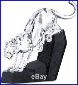 Swarovski Crystal Soulmate Panther Retired 874337 Bnib Coa