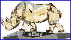 Swarovski Crystal Soulmate Rhinoceros Figurine 5136804 with COA NIB Retail $1599