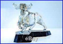 Swarovski Crystal Soulmates Bull Powerful Ox Sliver 1035340 Brand New In Box