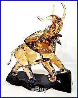 Swarovski Crystal Soulmates Elephant Light Sand 1120446 Authentic New In Box