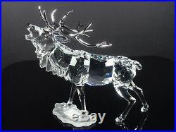 Swarovski Crystal Stag Retired MIB #291431