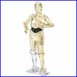Swarovski Crystal Star Wars C-3PO Robot Figurine Disney 5473052 + FREE SHIPPING