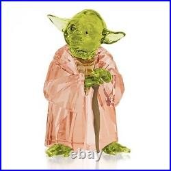 Swarovski Crystal Star Wars Master Yoda #5393456 Brand Nib Disney Cute Save$ F/s
