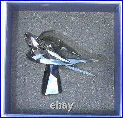 Swarovski Crystal Swallow Sculpture Decoration Figurine 5275745 Dark Metallic