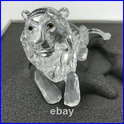 Swarovski Crystal The Lion 1995 Annual Edition Inspiration Africa with Box COA