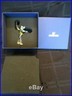 Swarovski Crystal Tinkerbell Disney Character- One Owner Near Mint In Orig Box
