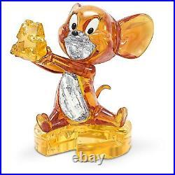 Swarovski Crystal Tom And Jerry, Jerry Figurine Decoration 5515336