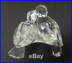 Swarovski Crystal Turtle Doves, Scs 1989 Annual Figurine, Caring & Sharing