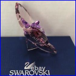 Swarovski Crystal Violet (Amethyst) Butterfly #1183941 Mint in original box