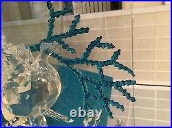 Swarovski Crystal WONDERS OF THE SEA ETERNITY (COLOR) #684266 MIB withCOA
