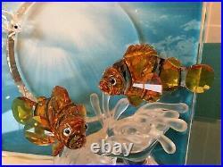 Swarovski Crystal WONDERS OF THE SEA HARMONY (COLOR) #657120 MIB withCOA