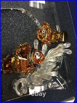 Swarovski Crystal Wonders Of The Sea Harmony 2005 Color Clown Fish Box