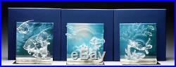 Swarovski Crystal Wonders of the Sea HARMONY COMMUNITY ETERNITY Clear Set MIB