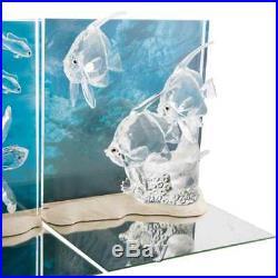 Swarovski Crystal Wonders of the Sea Set of 3 Dioramas MIB