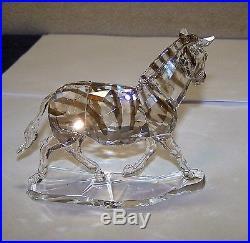 Swarovski Crystal Zebra, #1050853, Retired