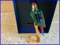 Swarovski Crystal macaw bird retired crystal