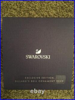 Swarovski Dillards Bell Christmas Ornament Exclusive Edition 2020 Brand New