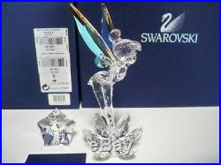 Swarovski Disney 2008 Tinkerbell Retired 905780 Bnib Coa