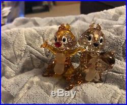 Swarovski Disney 2018 New Colored Chip and Dale Chipmunk