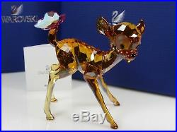 Swarovski Disney Bambi Crystal Color Figurine # 5004688 Retired NIB