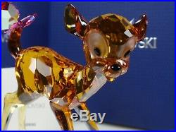 Swarovski Disney Bambi Retired 2013 MIB #5004688