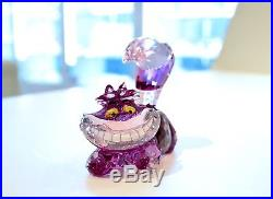 Swarovski Disney Cheshire Cat Pink Alice in Wonderland 5135885 Brand New in Box