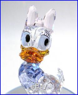 Swarovski Disney Daisy Duck 5115334 Bargain Retired Crystal Figurine Boxed
