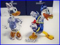 Swarovski Disney Donald Duck & Daisy Duck 5063676 & 5115334 Very Rare Nib